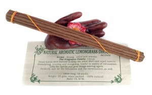 PURE AROMATIC LEMONGRASS DHOOP Naturalne kadzidła Nepal